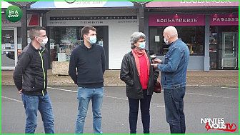 Approche Rurale avec Nantes&VousTV  mettent en avant les Acteurs du Commerce de Proximité ... aujourd'hui à Ancenis - 44