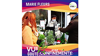 Les commerces de Bouguenais :  Marie Fleurs Artisan Fleuriste installé depuis 2015 à Bouguenais @VilleBouguenais
