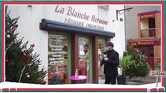 Les commerces de Clisson :  'La Blanche Ermine' Pâtissier Chocolatier @ClissonVille