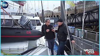 Nantes&VousTV était présent à l'arrivée du voilier cargo GrainDeSail à Nantes.