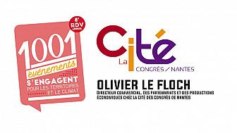 Olivier Le Floch présente le Bureau des Congrès de la Cité des Congrès de Nantes-Saint-Nazaire @NantesCVB  @olivelefloch @nantesfr @CCINantes