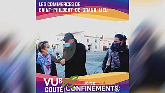 Nantes&VousTV :  Les commerces en difficulté à Saint Philbert-de-Grand-Lieu (44) en période de confinement 2