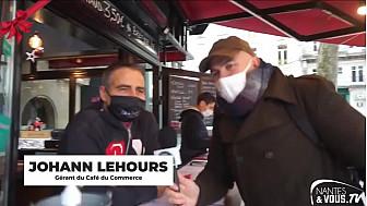 Nantes&VousTV :  dernière émission de l'année 2020 au Café du Commerce de Nantes
