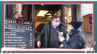 Bertrand du restaurant 'Au Coup de Canon' à Nantes se bat pour résister à cette crise qui impacte la restauration et la filière d'approvisionnement