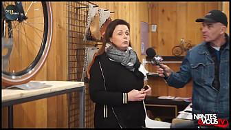 Approche Rurale avec nantes&VousTV chez VÉLO'LOC - Mobilité économique à  ANCENIS