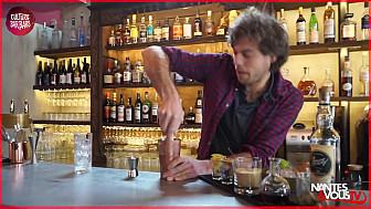 Nantes&VousTV  :  tuto du cocktail 'Le Ginger Hemingway' à la Mangouste sur Smartrezo.com