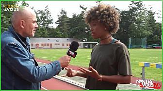 Nantes & Vous TV - Rencontre avec Judy, jeune espoir au 100m - Gigg's & Vous n°5