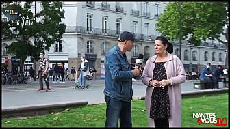 Nantes & Vous TV - Annonce de la course des serveuses et garçons de café de Nantes
