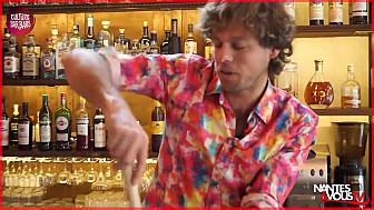 Nantes & Vous TV - Le Cocktail 'Kiss My Butt Or Not' avec la Mangouste