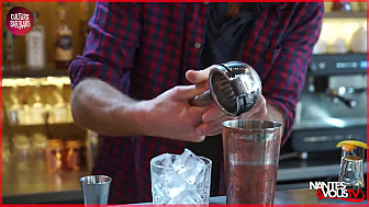 Nantes & Vous TV - Le cocktail 'Whisky Sour' avec La Mangouste