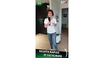 Nantes & Vous TV - Faites une recette rapide et équilibrée avec Marine - Vu & Goûté