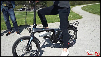 Nantes & Vous TV - Le vélo le PLUS LÉGER du monde chez Electroad - Racing